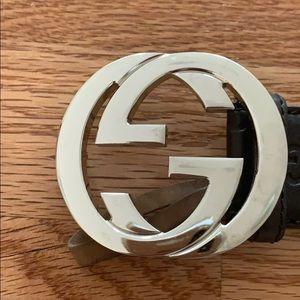 Gucci Accessories - Gucci Brown Belt
